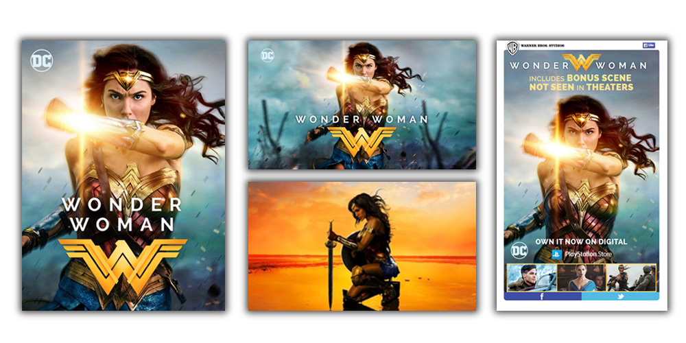 Wonder Woman Digital sets