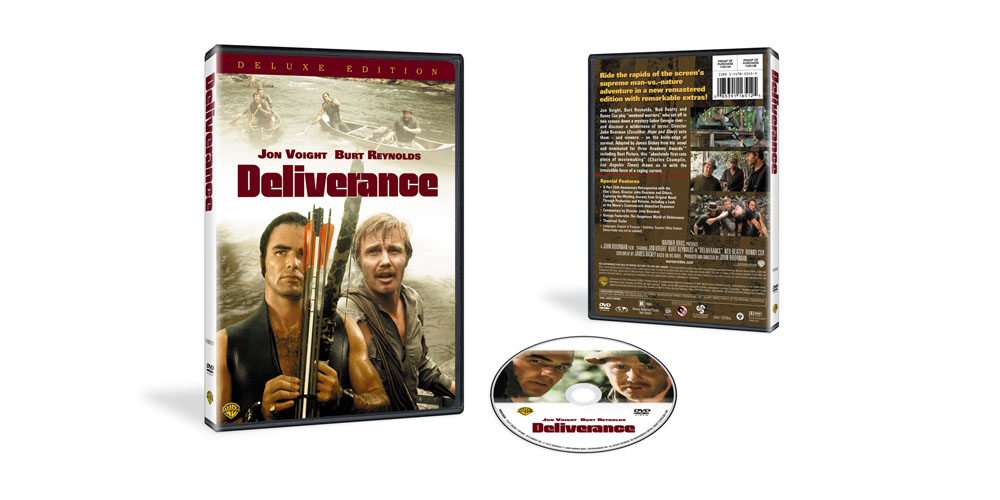 Deliverance New Key Art and Packaging